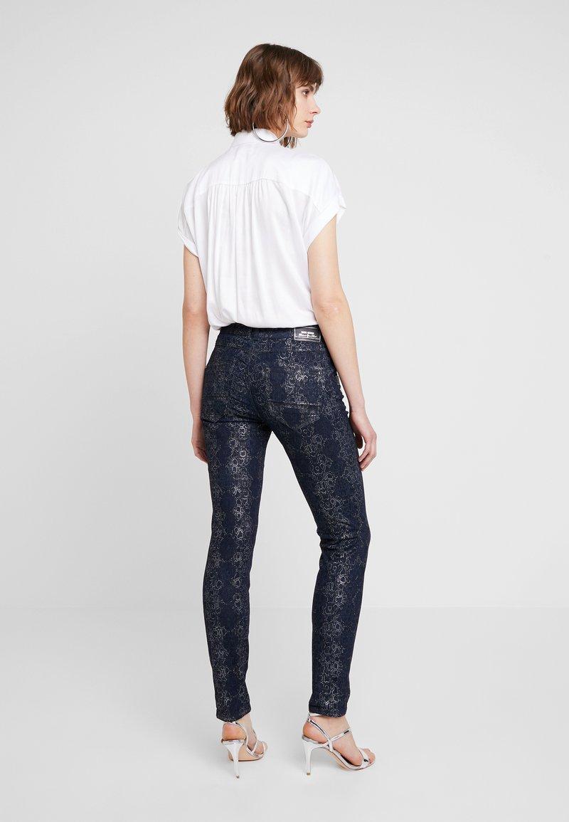 Mos Mosh - COBRA PANT - Slim fit jeans - dark blue