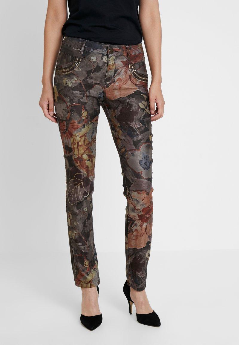 Mos Mosh - HILL PANT - Slim fit jeans - burro camel
