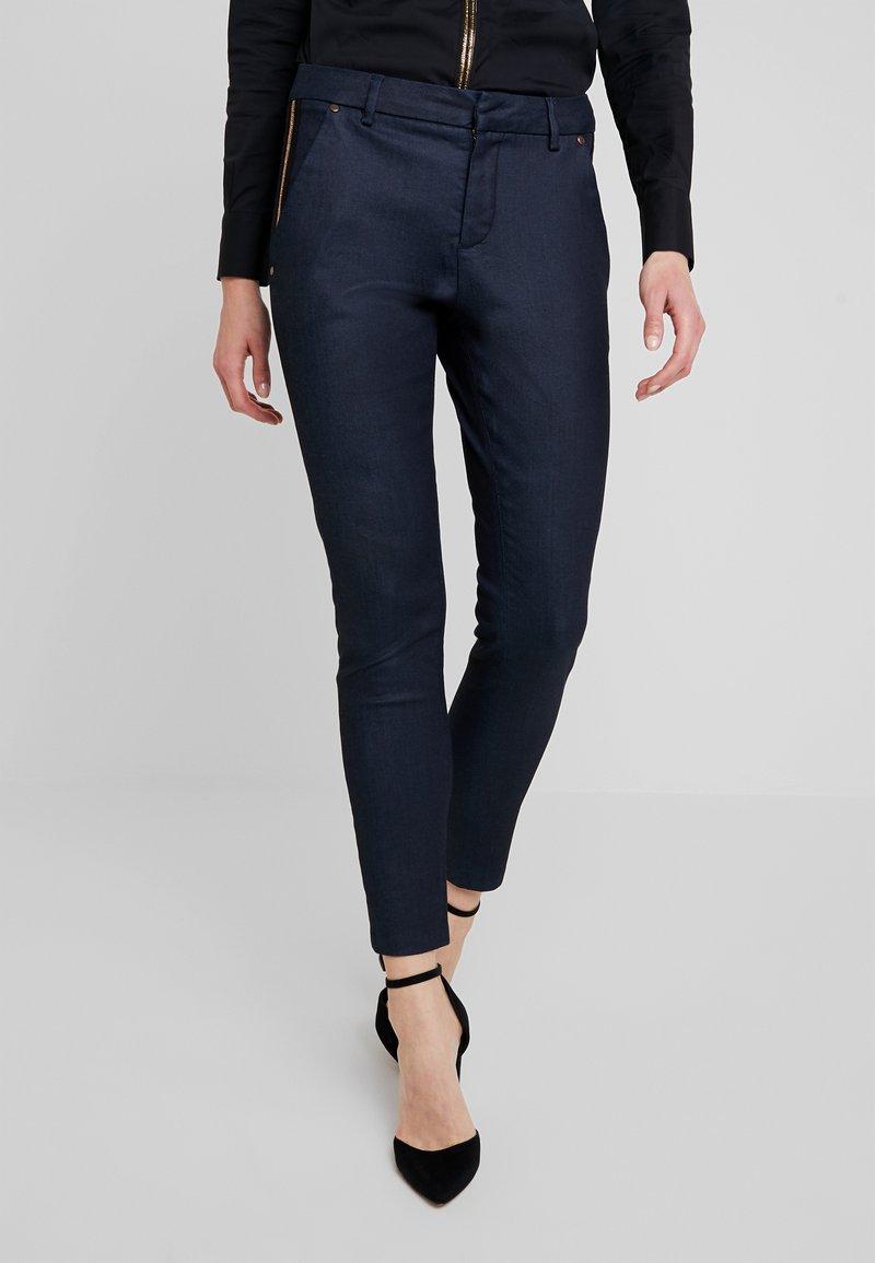 Mos Mosh - BLAKE GALLERY PANT - Skinny džíny - dark blue