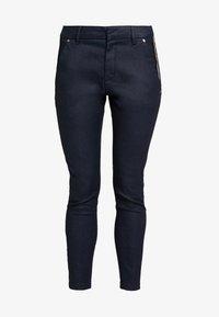Mos Mosh - BLAKE GALLERY PANT - Skinny džíny - dark blue - 4