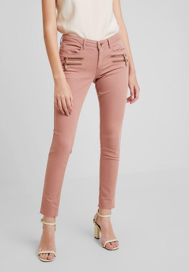 Mos Mosh - CHARLIE ZIP PANT - Pantalon classique - vintage rose