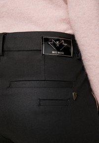 Mos Mosh - BLAKE GALLERY PANT - Bukse - black - 3