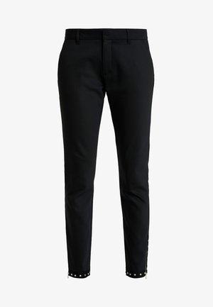 ABBEY TROKS TAPE PANT - Kalhoty - black