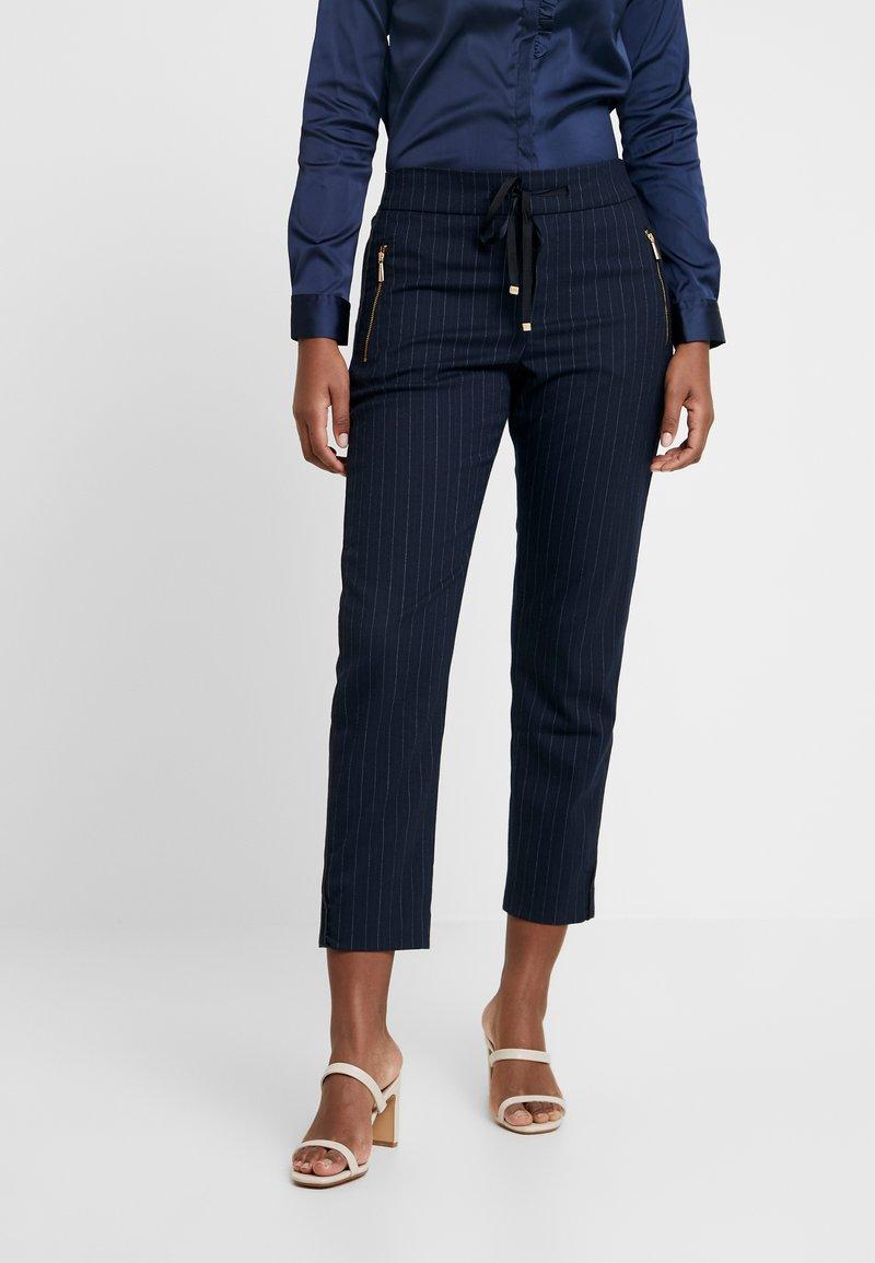 Mos Mosh - GABBI PIN PANT - Pantalones - blue