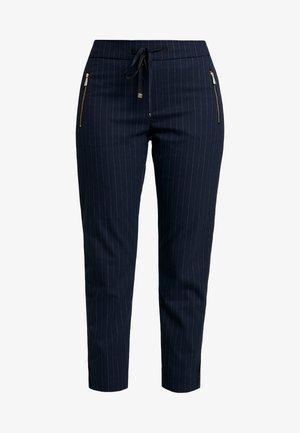 GABBI PIN PANT - Kalhoty - blue