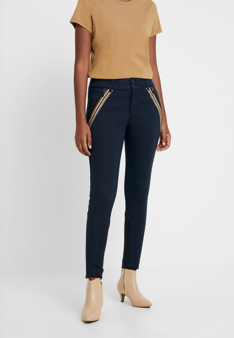 Mos Mosh - MILTON COMFORT PANT - Pantalones - blue