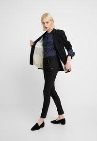 Mos Mosh - MILTON NIGHT PANT SUSTAINABLE - Kalhoty - black - 2