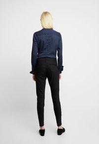 Mos Mosh - MILTON NIGHT PANT SUSTAINABLE - Kalhoty - black - 3