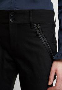 Mos Mosh - MILTON NIGHT PANT SUSTAINABLE - Kalhoty - black - 6