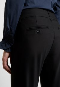 Mos Mosh - MILTON NIGHT PANT SUSTAINABLE - Trousers - black - 4