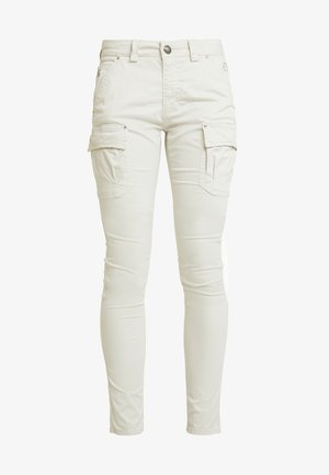 CHERYL CARGO REUNION PANT - Pantalones - light grey