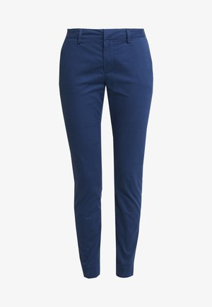 ABBEY COLE PANT - Tygbyxor - dark blue