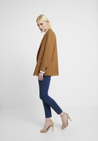 Mos Mosh - ABBEY COLE PANT - Kalhoty - dark blue - 2