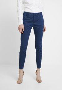 Mos Mosh - ABBEY COLE PANT - Kalhoty - dark blue - 0