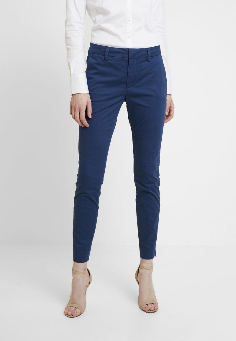 Mos Mosh - ABBEY COLE PANT - Kalhoty - dark blue
