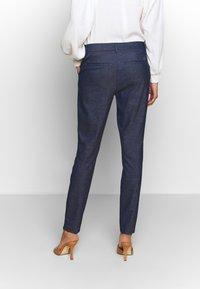 Mos Mosh - ABBEY MARLY PANT - Kalhoty - dark blue - 2