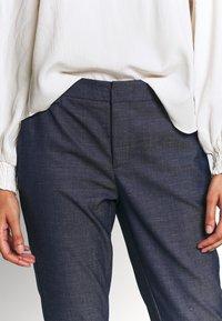 Mos Mosh - ABBEY MARLY PANT - Kalhoty - dark blue - 3