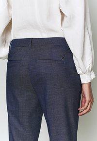 Mos Mosh - ABBEY MARLY PANT - Kalhoty - dark blue - 5