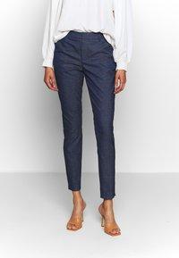 Mos Mosh - ABBEY MARLY PANT - Kalhoty - dark blue - 0
