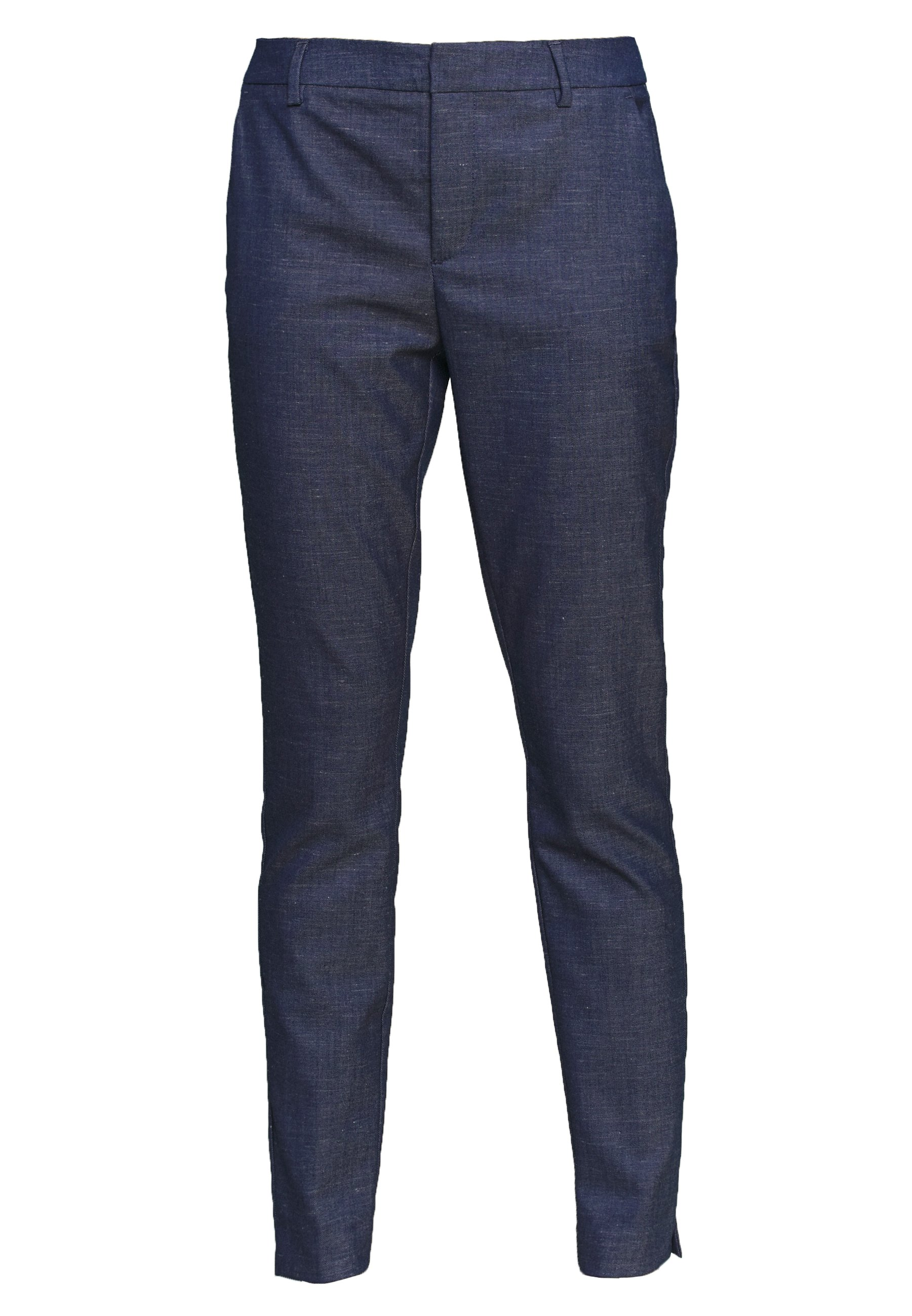 Mos Mosh Abbey Marly Pant - Tygbyxor Dark Blue