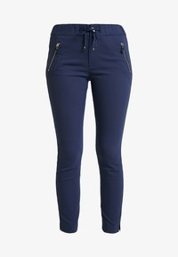 Mos Mosh - LEVON - Spodnie materiałowe - dark blue - 3