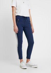 Mos Mosh - LEVON - Spodnie materiałowe - dark blue - 0