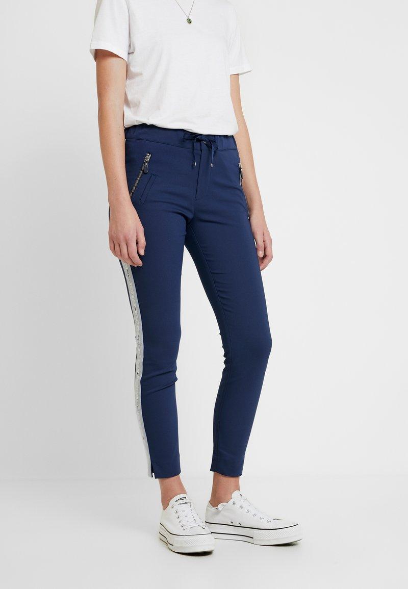 Mos Mosh - LEVON - Spodnie materiałowe - dark blue
