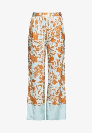 RITA STENCIL PANT - Spodnie materiałowe - mint haze