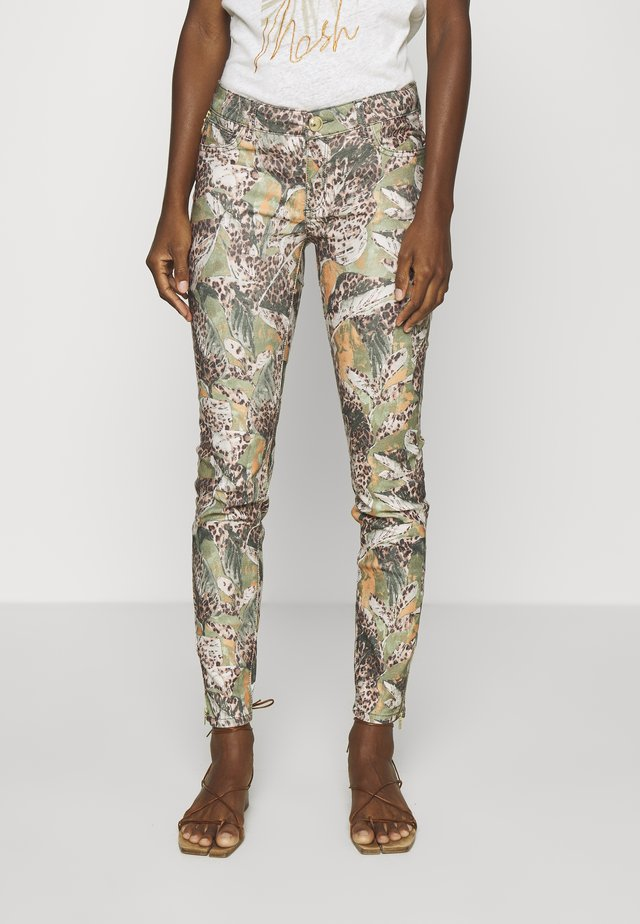 VICTORIA MAYA PANT - Trousers - oil green