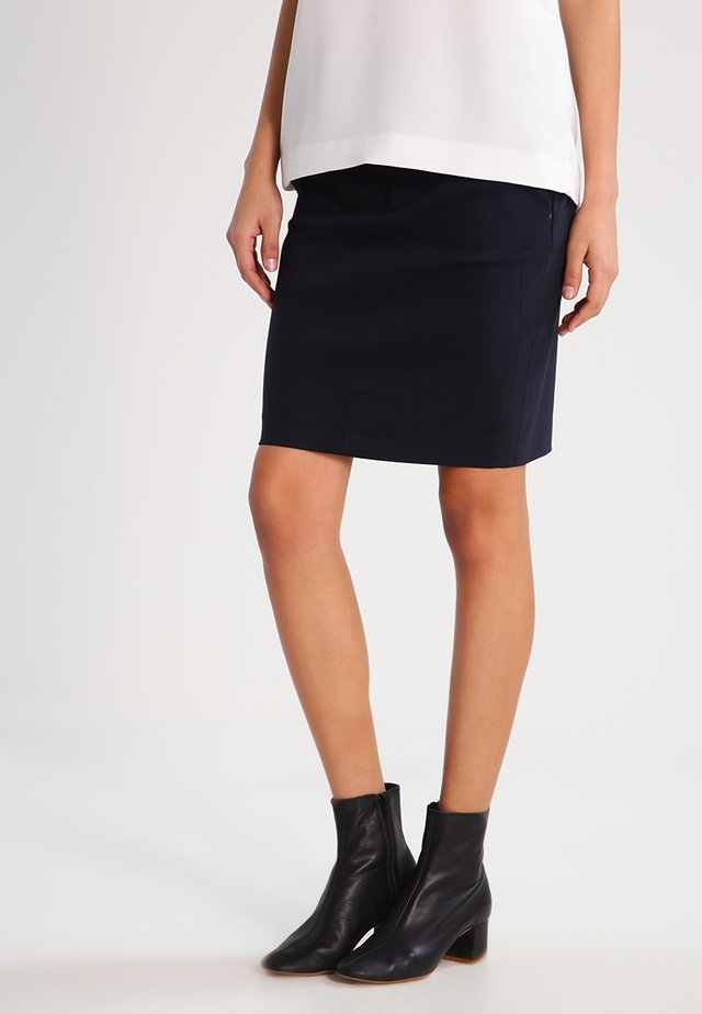 BLAKE NIGHT - Pencil skirt - navy