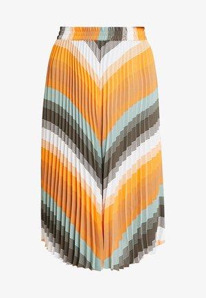 PLISS BELLA SKIRT - Plisovaná sukně - sun orange