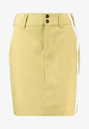 BLAKE SKY SKIRT - Spódnica jeansowa - shadow lime
