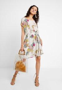 Mos Mosh - HEATHER AVA DRESS - Day dress - offwhite - 1