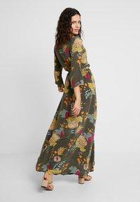 Mos Mosh - TULUM AVA DRESS - Maxi dress - grape/leaf - 3