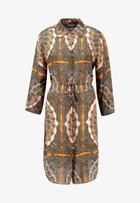 Mos Mosh - ELAINE SCARF DRESS - Skjortekjole - apricot - 4