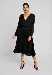 Mos Mosh - CHITA DRESS - Cocktailjurk - black - 0