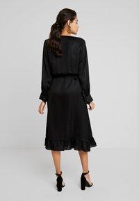 Mos Mosh - CHITA DRESS - Cocktailjurk - black - 3