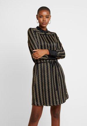 JODIE PEARL TUNIC - Denní šaty - black