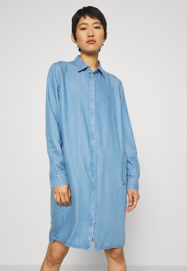 ELLEN - Shirt dress - light blue