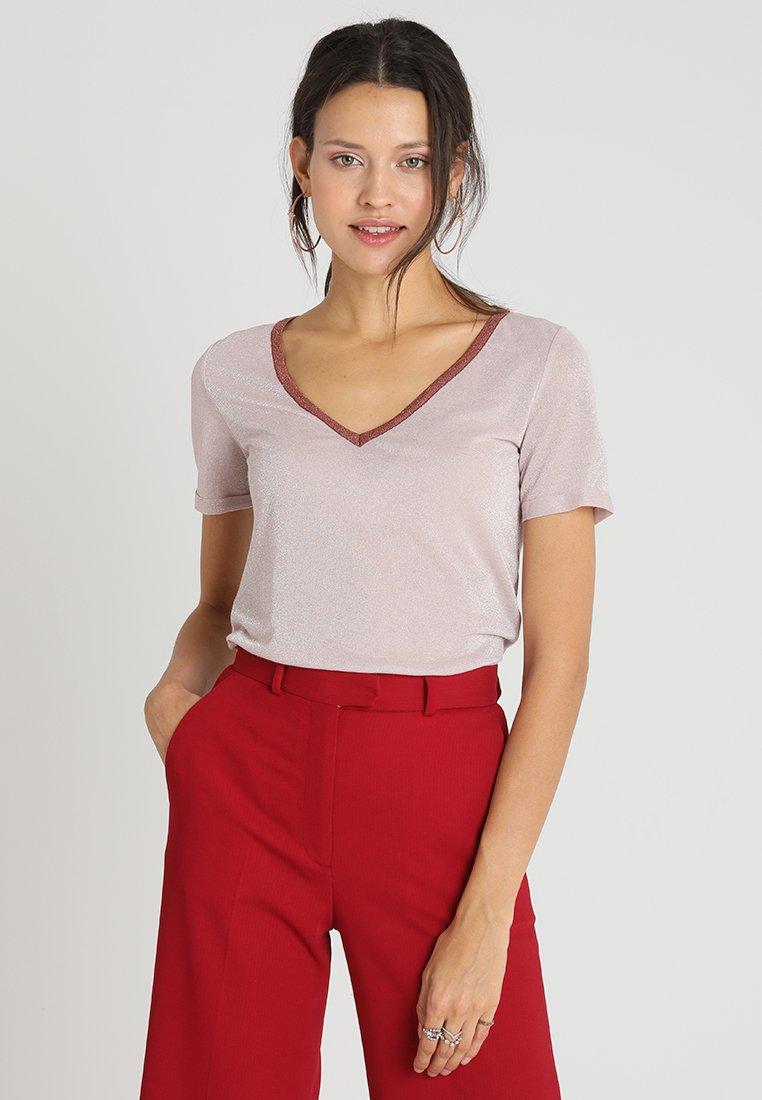 Mos Mosh - CASIO - Print T-shirt - pale rose