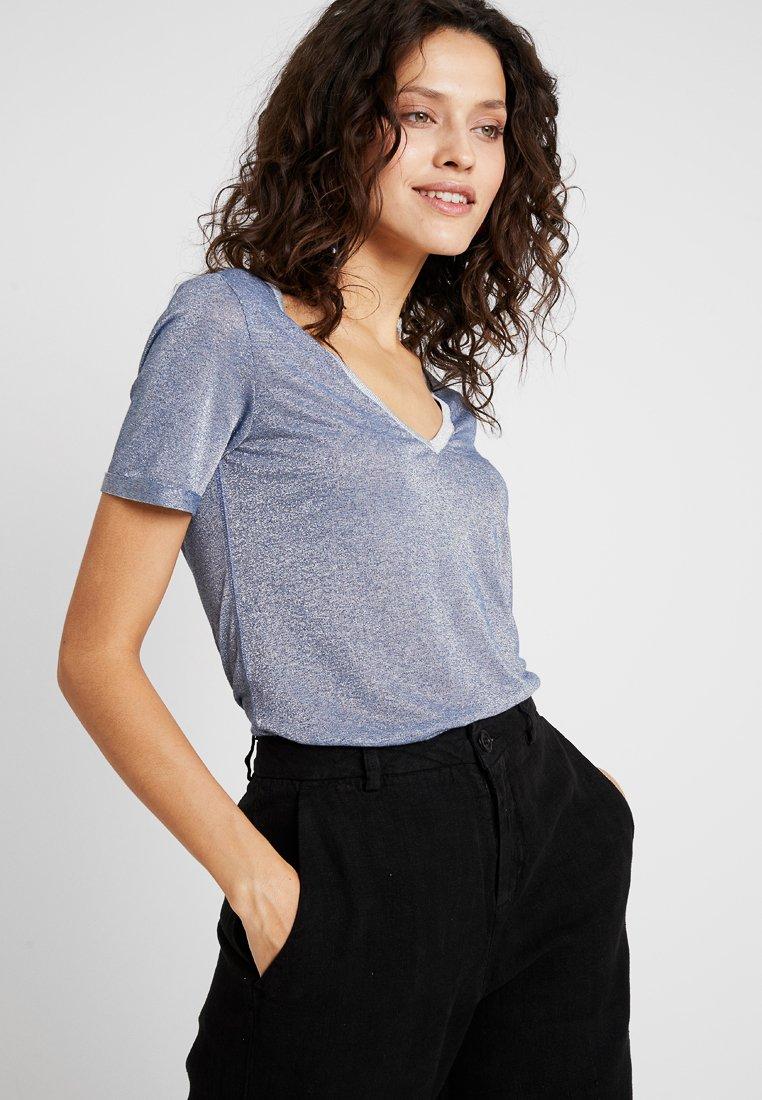 Mos Mosh - CASIO - T-shirt imprimé - indigo blue