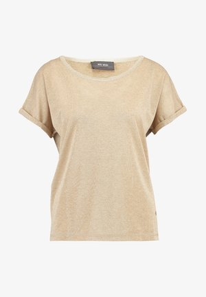 KAY TEE - T-shirt con stampa - gold