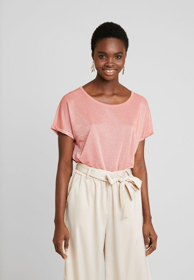 KAY TEE - T-shirt med print - sugar coral