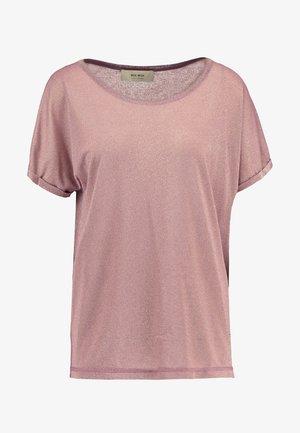 KAY TEE - Print T-shirt - wild plum