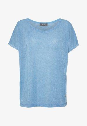 KAY TEE - Triko spotiskem - light blue