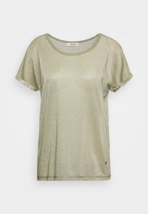 KAY TEE - Print T-shirt - oil green