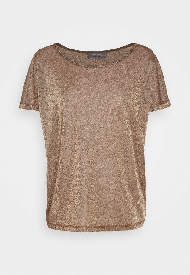KAY TEE - T-Shirt print - chocolate chip