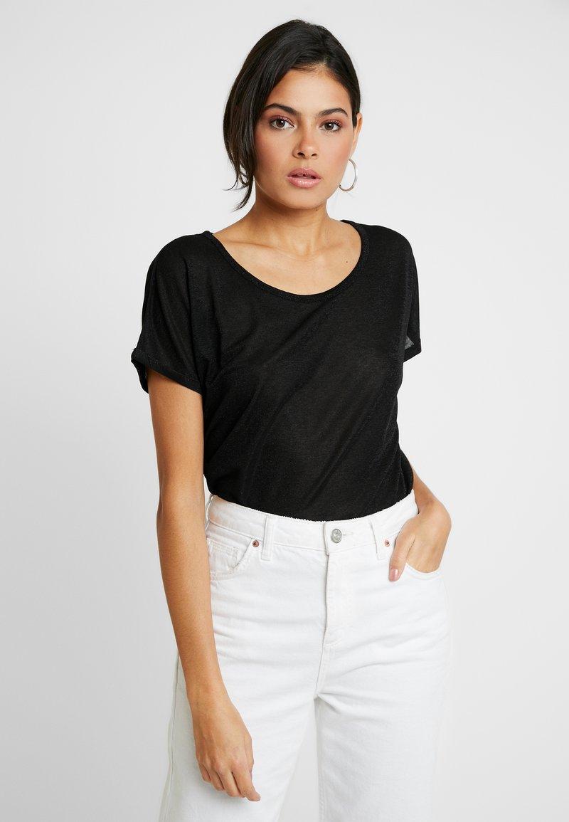 Mos Mosh - KAY TEE - Camiseta estampada - black