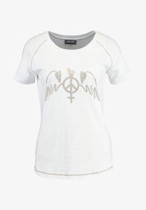MAG TEE - Print T-shirt - white
