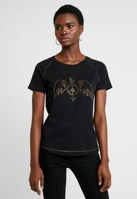 Mos Mosh - MAG TEE - Print T-shirt - black - 0